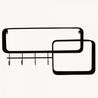 Hooks, Racks & Shelves
